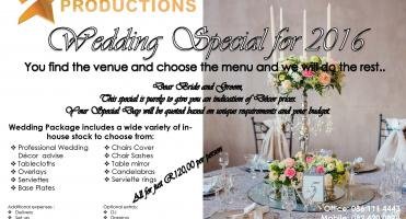 Weddings Special for 2016